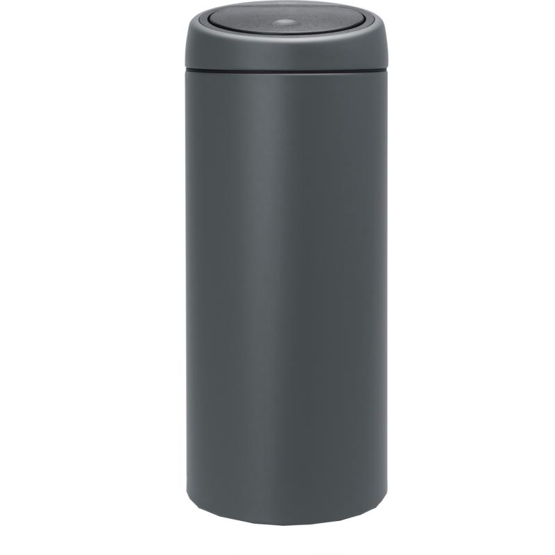 Brabantia Afvalbak 30 Liter.Brabantia Touch Bin 30 Liter Verkeersgrijs Ddw Trading